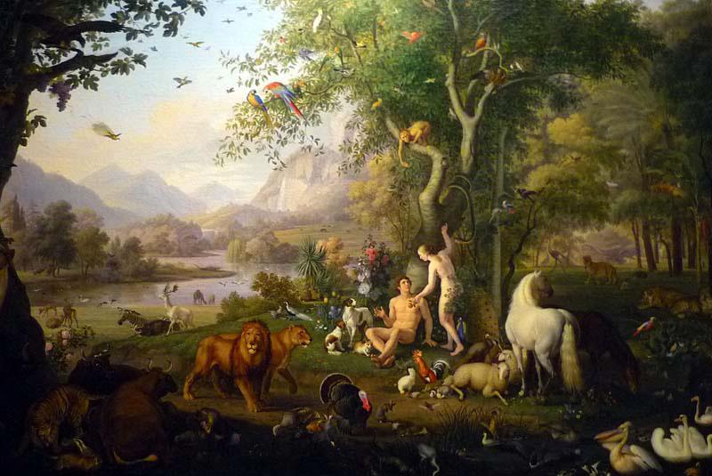 the-garden-of-eden-by-wenzel-peter