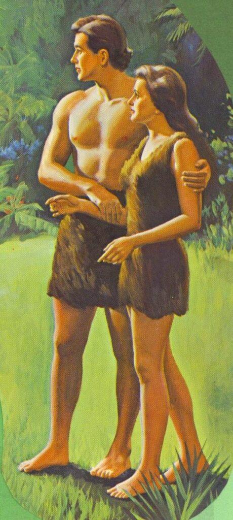 Description: Adam and Eve